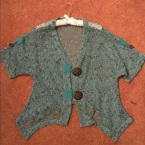 Kaktus crocheted cardigan sz S